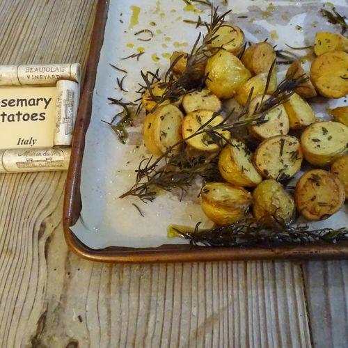 Rosemary potatoes (Italy)