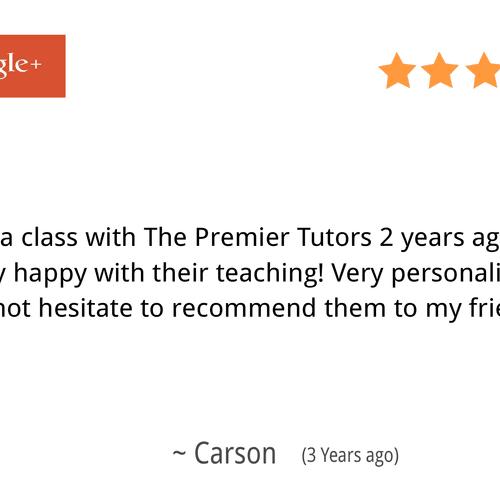Carson - Google Review