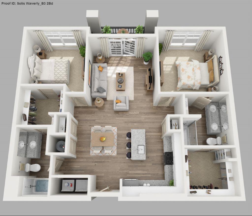 2 Bedroom Move