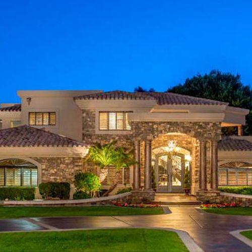 Luxury Home at Sunset - Phoenix, AZ