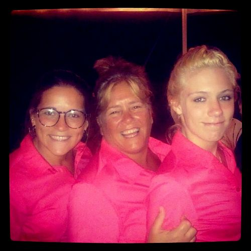 Three of our servers
