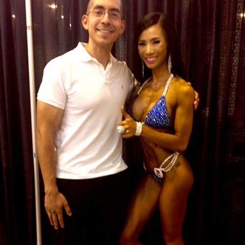 Supporting my client at the 2016 Branch Warren Classic for her first NPC Bikini show.