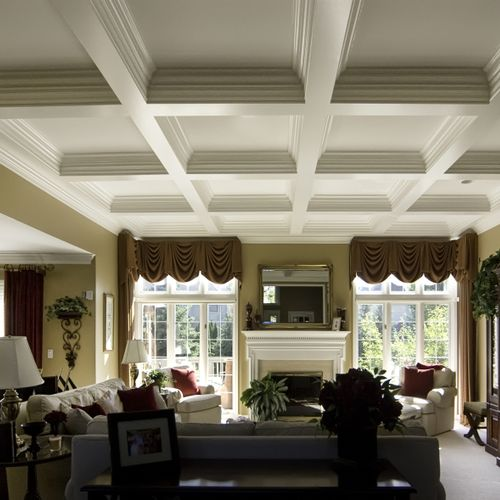 Interior Painting of Ceilings, Walls, & Trim
