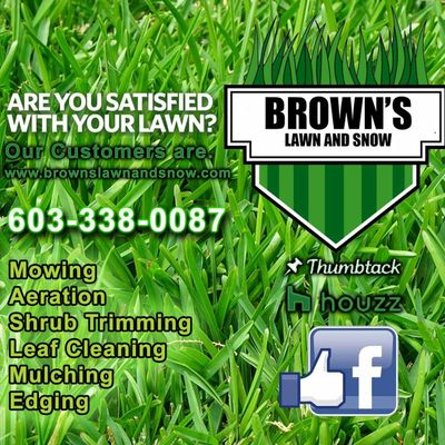 Avatar for Brown's Lawn and Snow Keene, NH Thumbtack