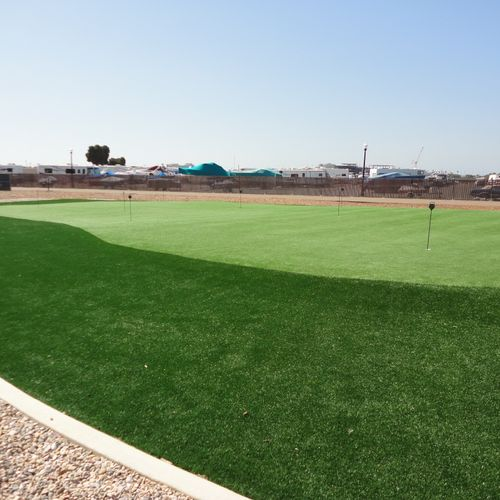 Marine Corps Recruit Depot -  Synthetic Turf Putting Green