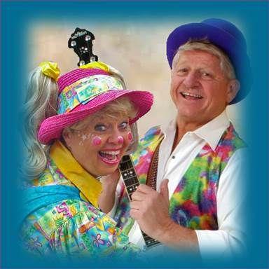 Carey Ann the Clown & Mister Ro