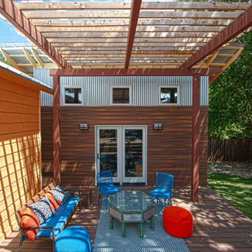 Residential Deck and Casita