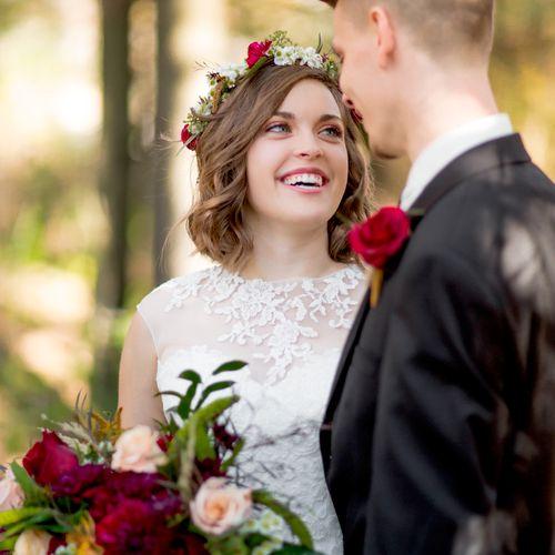 Bridal make-up:  ME