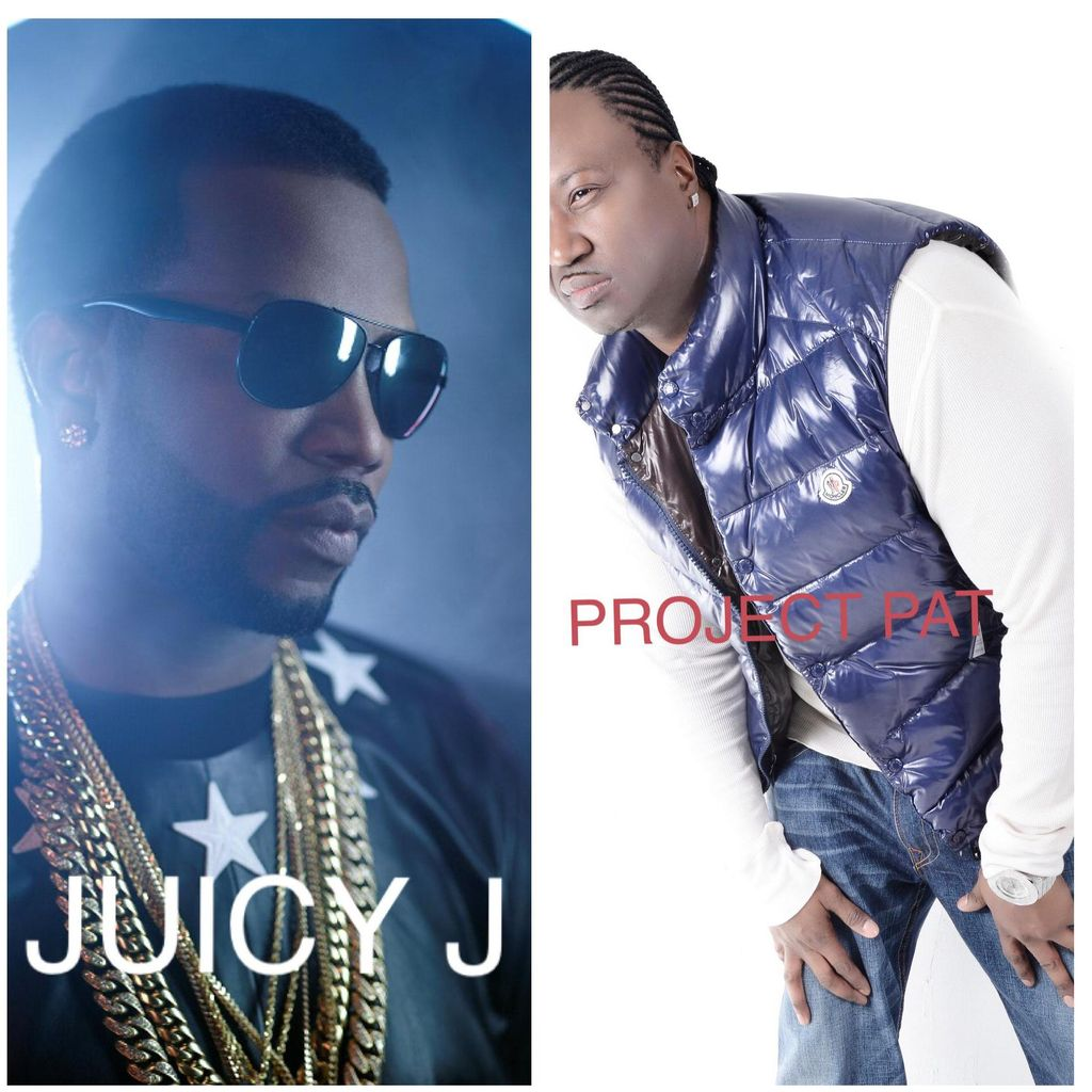 Project pat and Juicy J booking