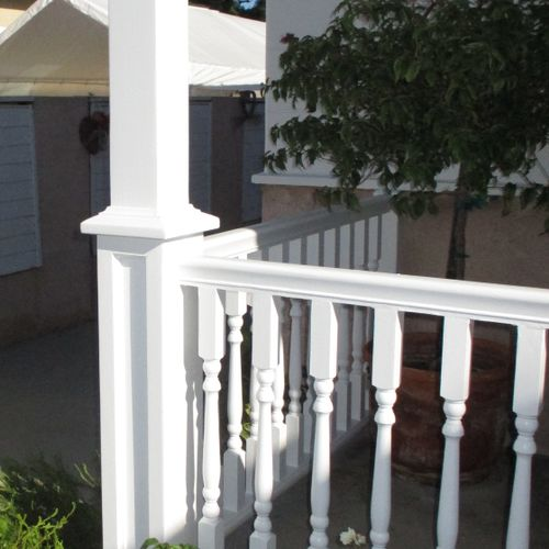 We can design and build custom woodwork for your home.