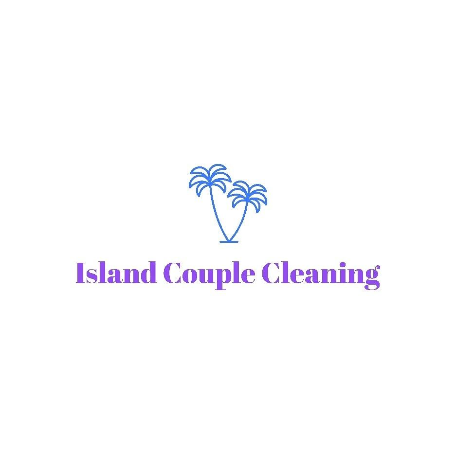 Island Couple Cleaning