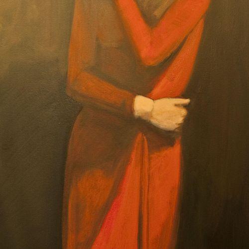 3'x4' Portrait study,Oil.