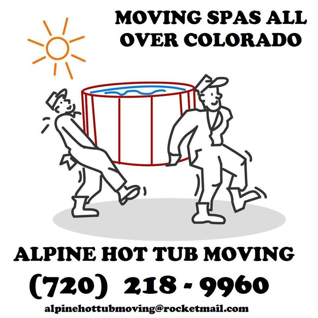 Alpine Hot Tub Moving and Service