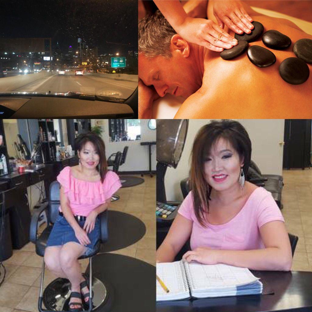 Mobile jean massage , barber Haircuts, Waxing