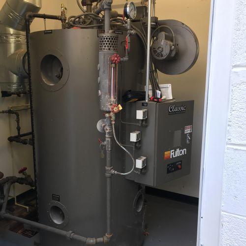 Steam boiler service