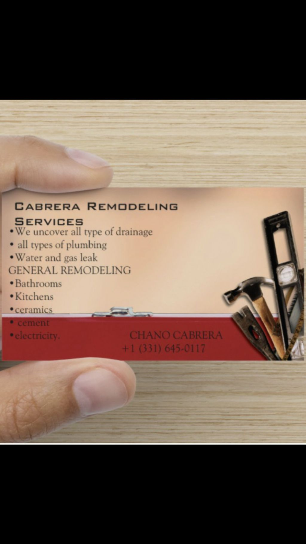 cabrera remodeling services