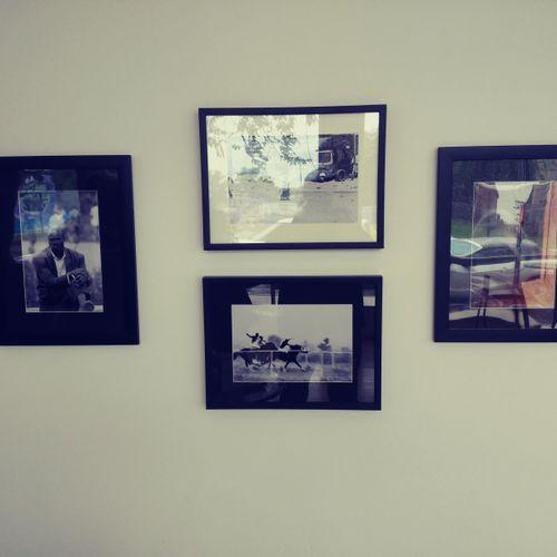 Framed Photographs...