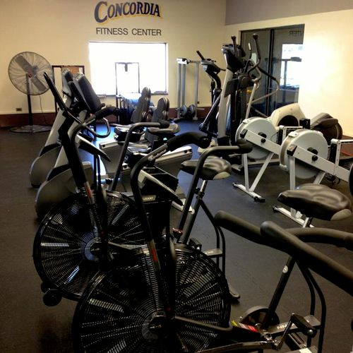 Gym at Concordia College, NY