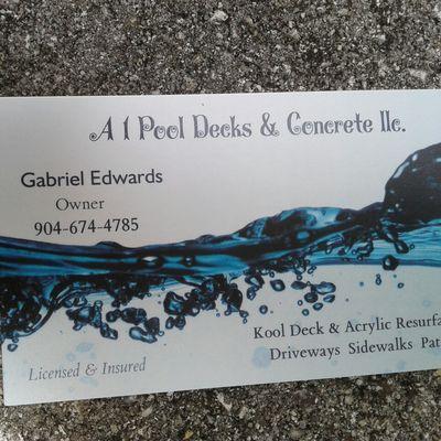 Avatar for A 1 Pool Decks & Concrete llc. Jacksonville, FL Thumbtack