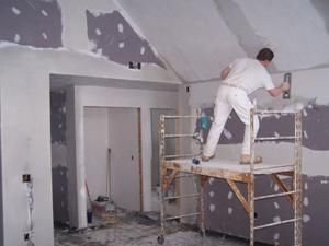 Drywall installation and mudding ready for paint - We offer drywall and mudding services