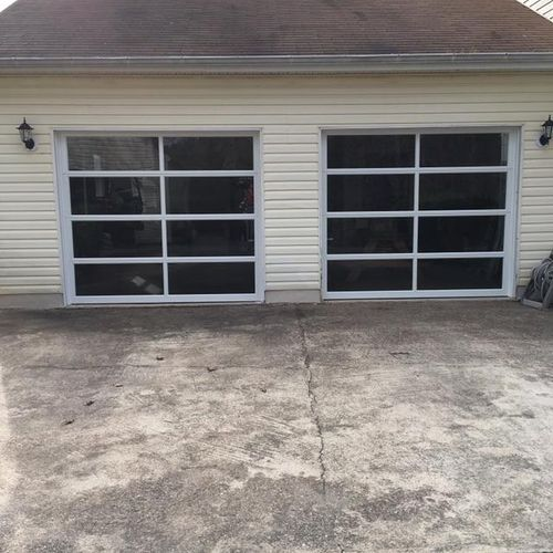 After - Avante Garage Doors  These doors really make a statement!