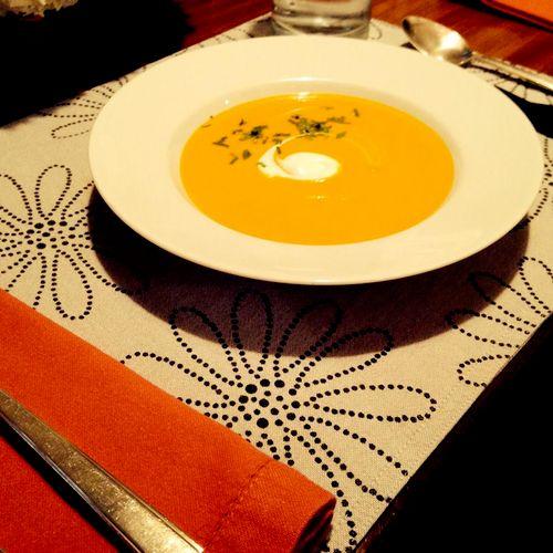 Silky Carrot Soup