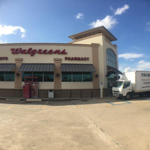 Walgreens water damage restoration.