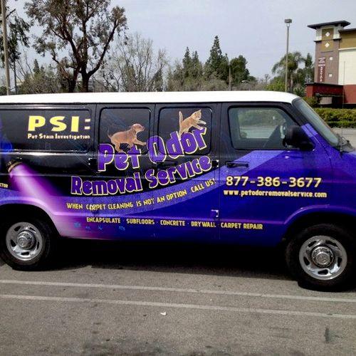 The Pet Odor Removal Service Mobile.