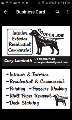 Avatar for Cooper Joe Painting Saint Charles, MO Thumbtack