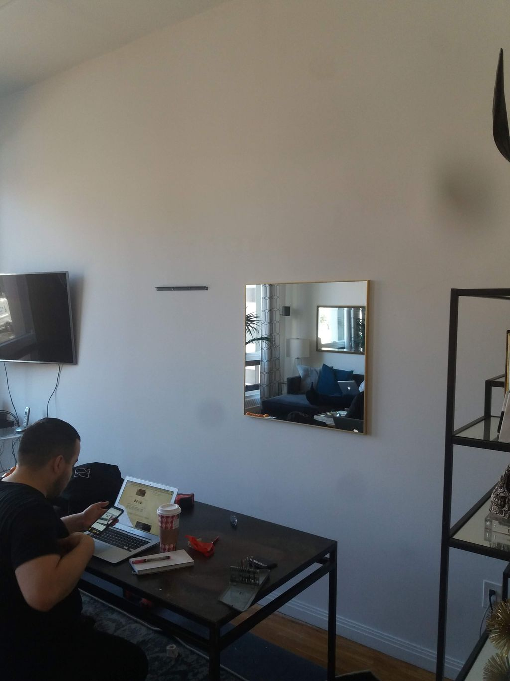 Mirrors Mounted
