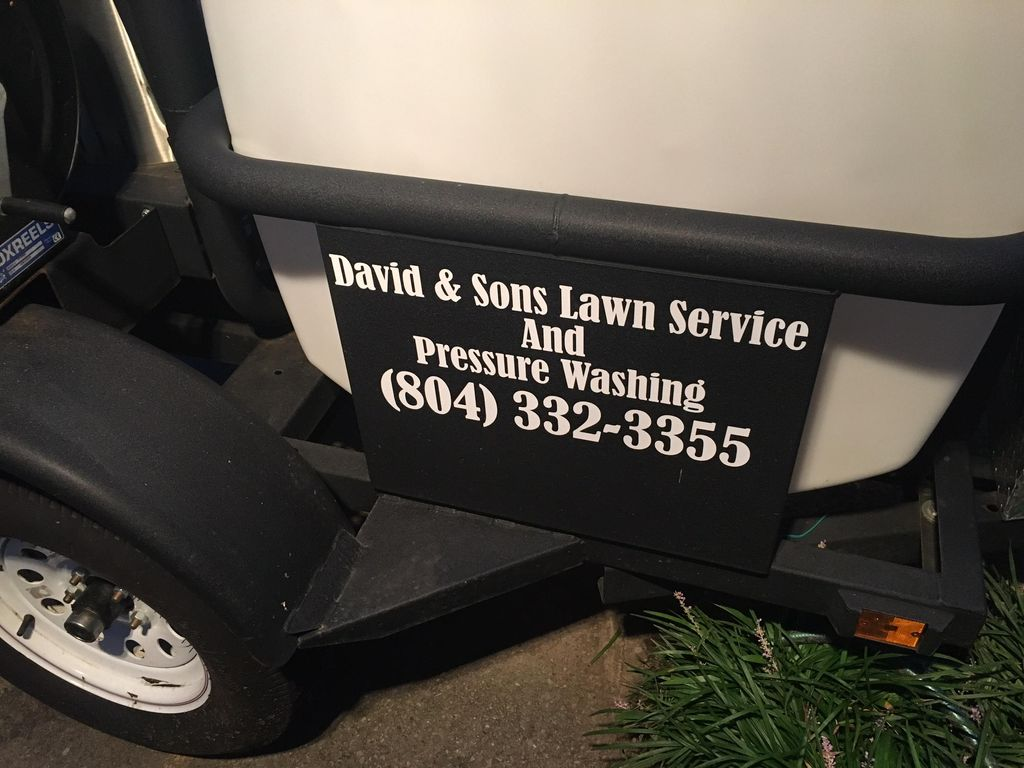 David & Sons Lawn Service And Pressure Washing