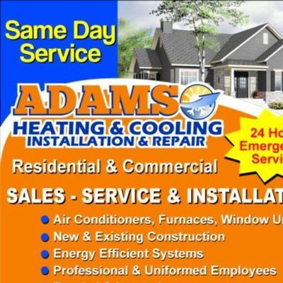 Avatar for Adams Heating & Cooling