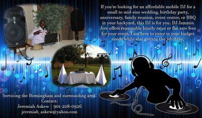 Avatar for DJ Jammin Jere Pelham, AL Thumbtack