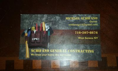 Avatar for Schifano General Contracting Buffalo, NY Thumbtack