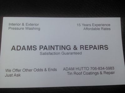 Avatar for Adam's Painting and Repairs