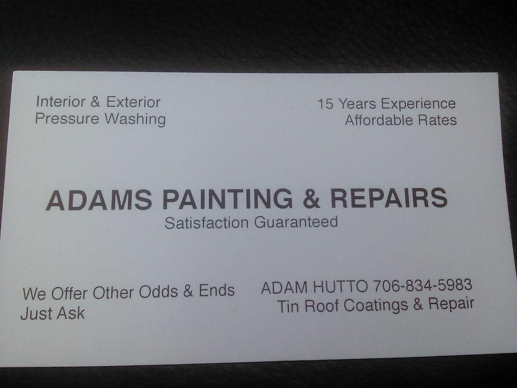 Adam's Painting and Repairs