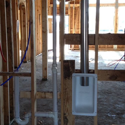 Pre- Drywall  Plumbing Inspection