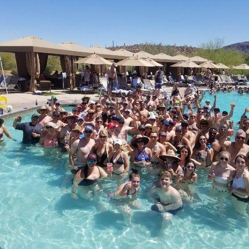 AZ Firemen's Ball Pool Party