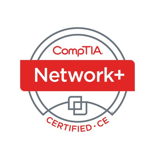 CompTIA Network+ Certified to help build or repair your network.