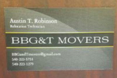 Avatar for BBG&T movers Gordonsville, VA Thumbtack