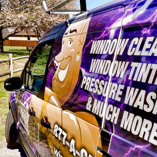 At Window Genie we clean windows and a whole lot more!