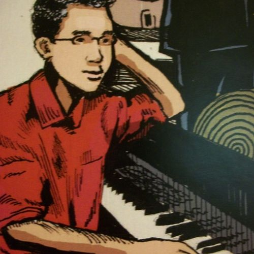 Promotional picture for a jazz festival
