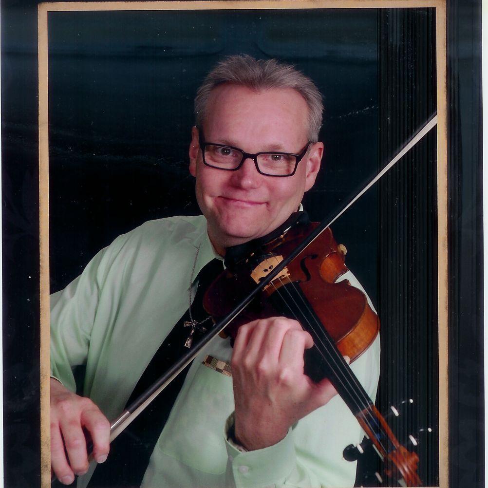 Violin studio, Paul Ciolek (Bachelor of Arts wi...