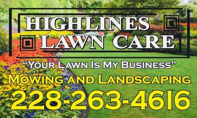 Avatar for Highlines Lawn Care Gulfport, MS Thumbtack