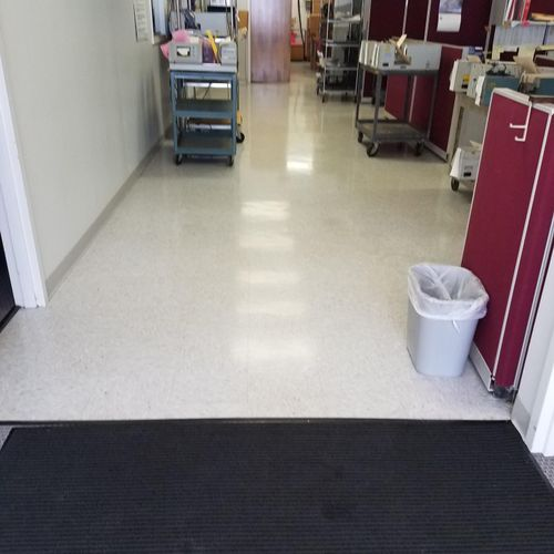 Weekly janitorial at electronic shop Middletown CT
