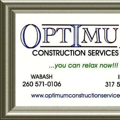 Avatar for Optimum Construction Services LLC Wabash, IN Thumbtack