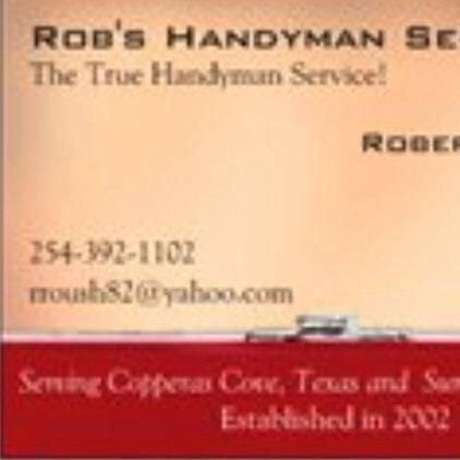 Rob's Handyman Service