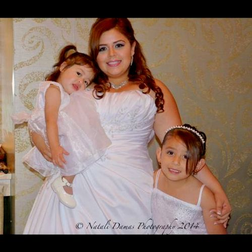 Bridal Makeup done by me.