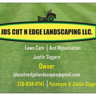 JDS CUT N EDGE LANDSCAPING
