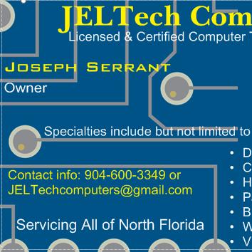 Avatar for JELTech Computer Repairs LLC. Jacksonville, FL Thumbtack